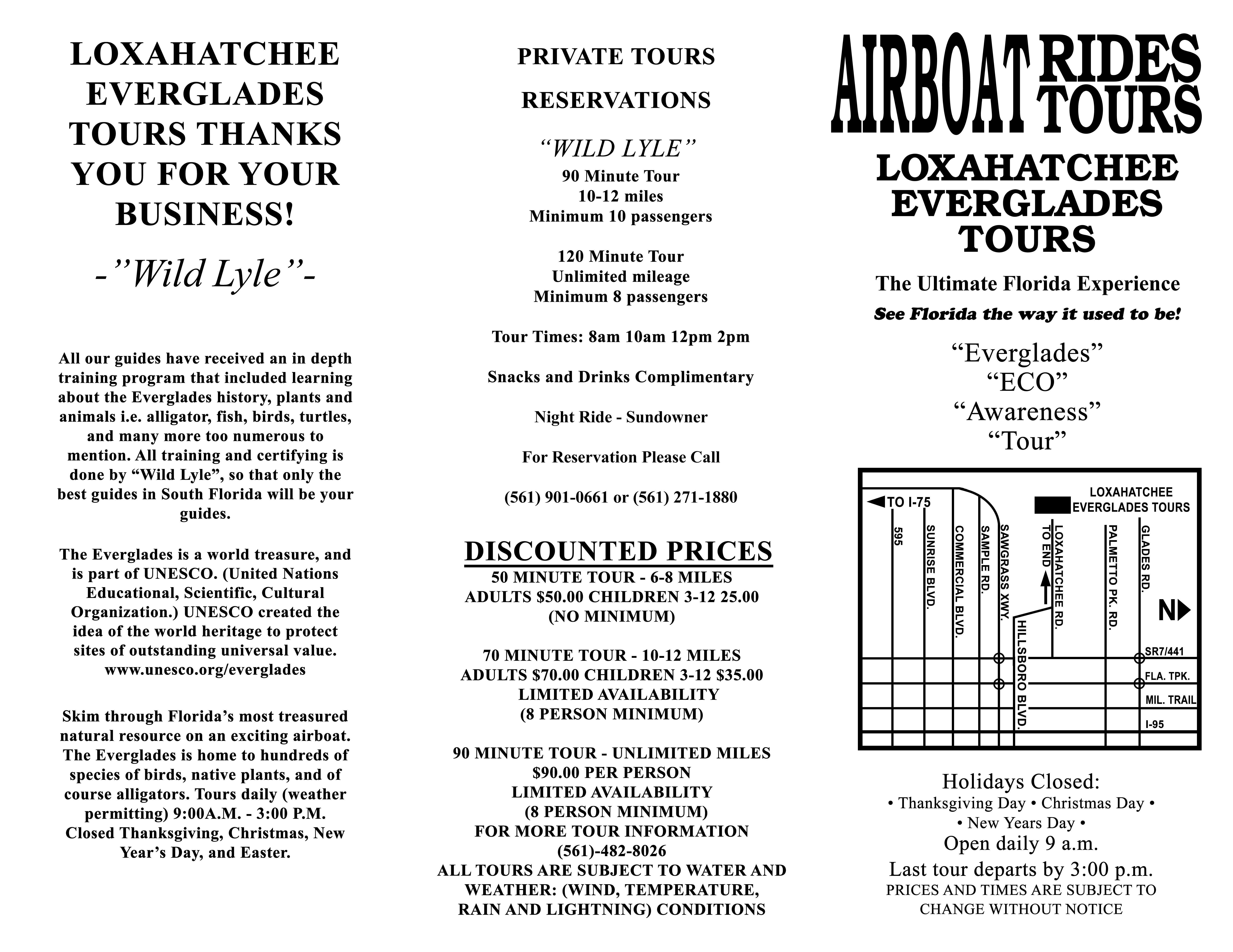Lox Tours info